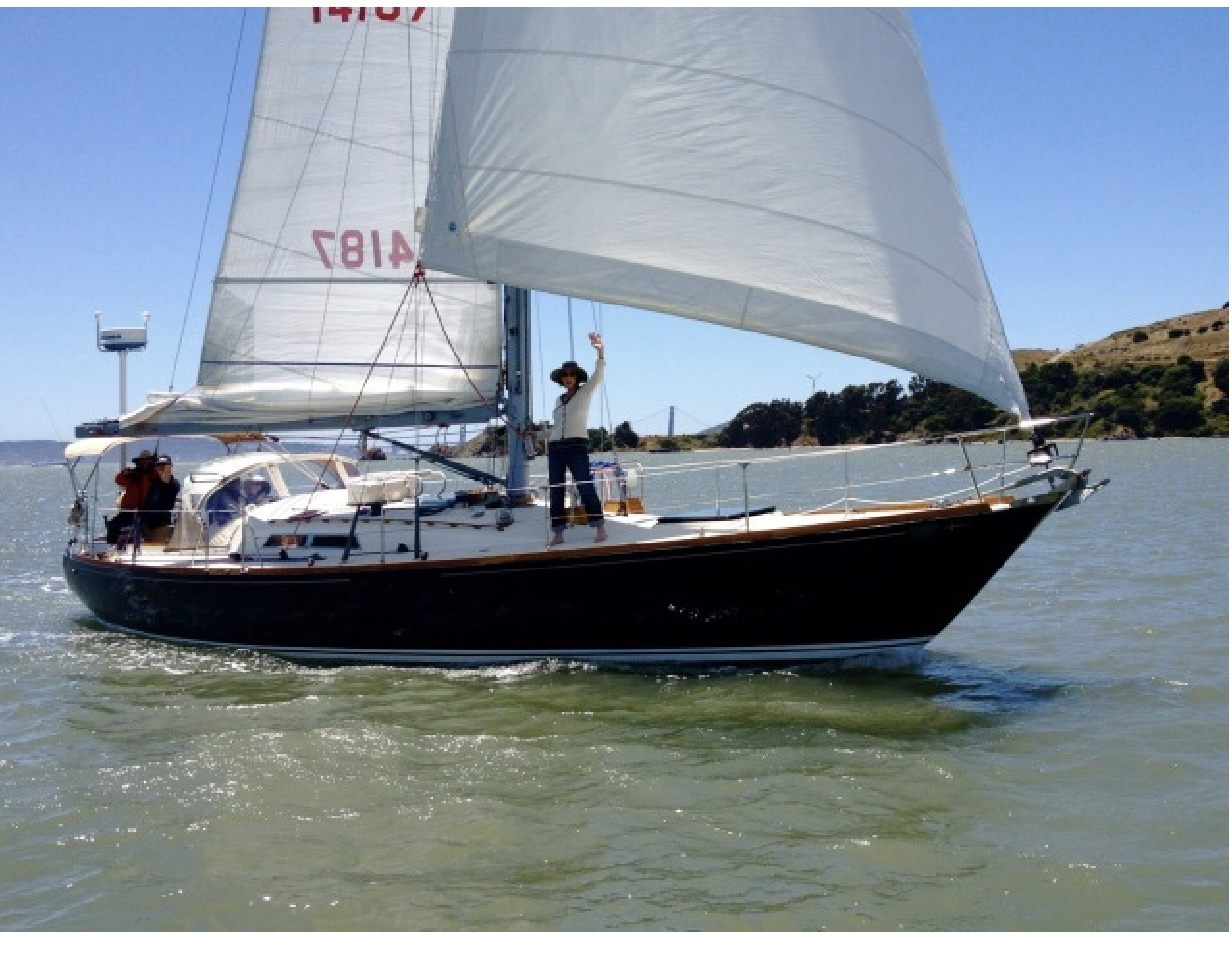 Sailing Yacht Charter In San Francisco Bay