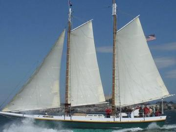 Yachts: Sailing Charter On 72' Tall Ship Gas Light on SF Bay, Ca- up to 4