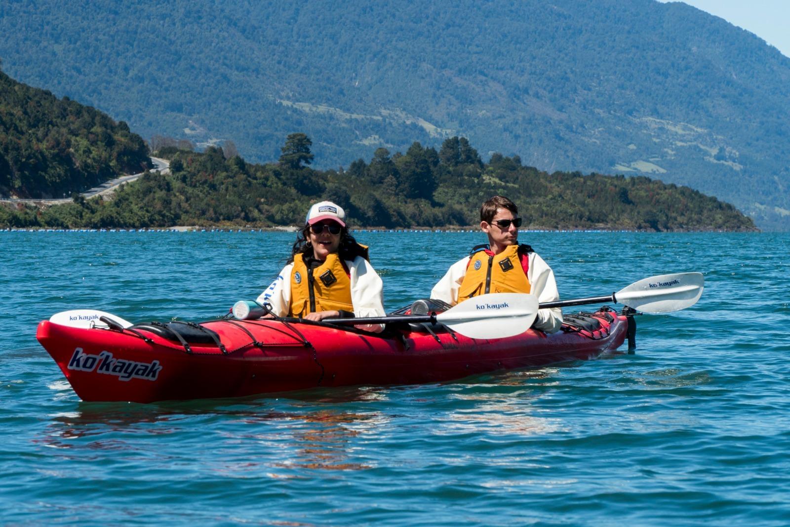 Travesía en Kayak (2 días y 1 noche)