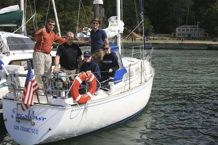 Enjoy a sailing adventure on San Francisco Bay