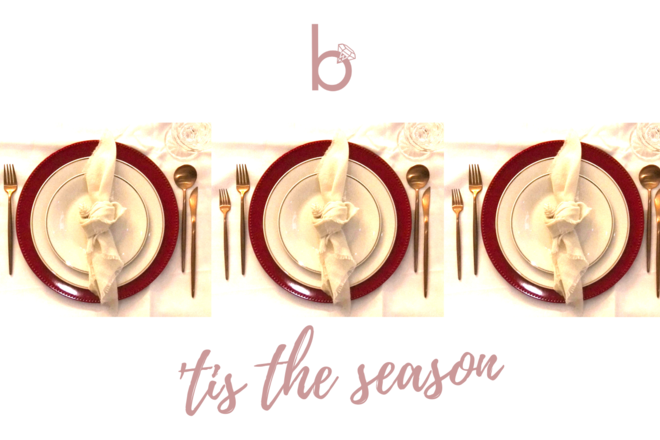 Nightly rental: 'Tis the Season - Table Setting