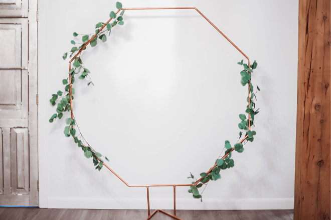 Nightly rental: Copper Hexagon Arch