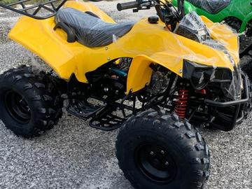 Yellow or Camouflage Quad Bike 125cc