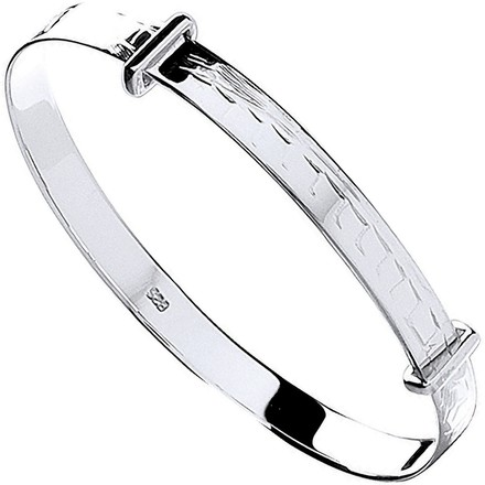 Selling: Silver D/C Expandable Baby Bangle