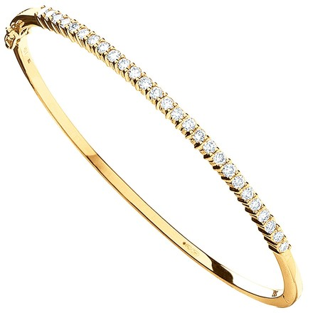 Selling: 9ct Yellow Gold 1.10ctw Diamond Bangle