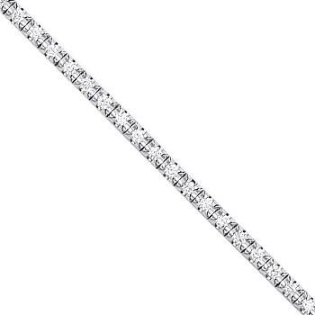 Selling: 18ct illusion Set 0.75ct tennis bracelet