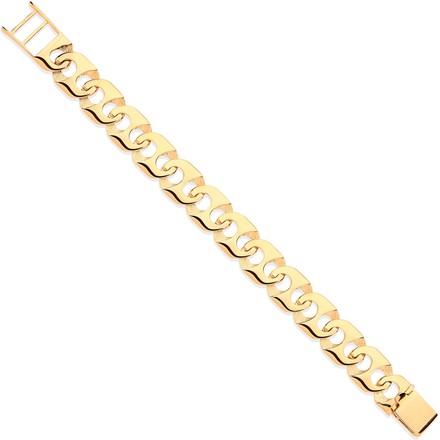 Y/G Anchor Link Gents Bracelet