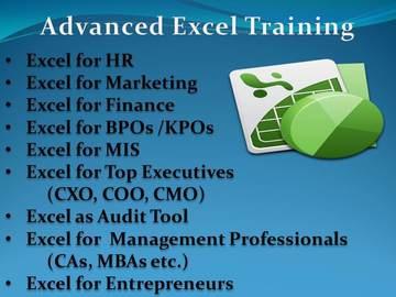 Consultation: Advanced Microsoft Excel Training