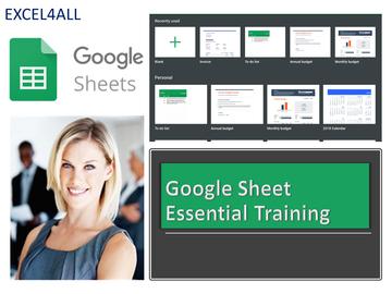 Consultation: Google Sheets Training