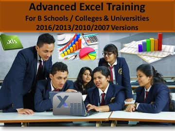 Consultation: Advanced Excel Training for B-schools and MBA Colleges