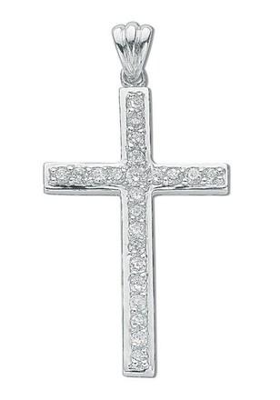 Selling: Silver Cz Cross