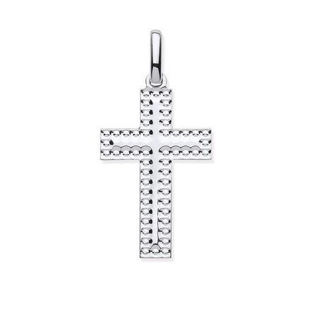 Selling: Silver Embossed Edge Cross