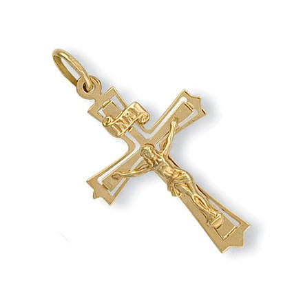 Selling: Y/G Cut Out Crucifix