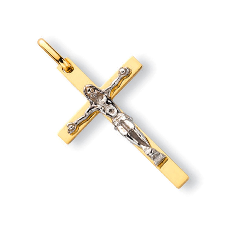 Y & W/G Crucifix