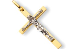 Selling: Y & W/G Crucifix