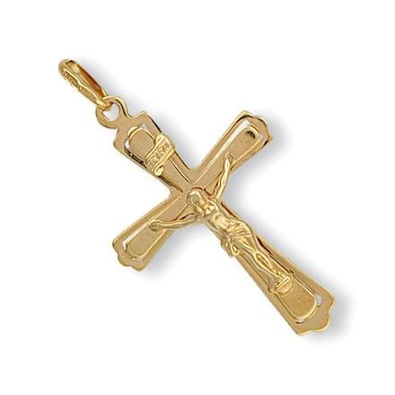Selling: Y/G Cut Out Crucifix