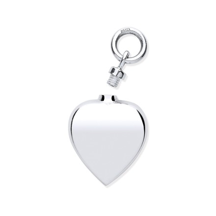 Selling: Silver Perfume/Ashes Heart Holder Pendant