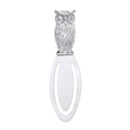 Selling: Silver Owl Bookmark