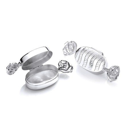 Selling: Silver Trinket (Pill) Sweet Bonbon Box