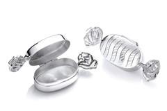 Selling: Silver Trinket (Pill) Sweet Bonbon Box