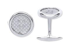 Selling: Silver Button Cufflinks