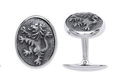 Selling: Silver Rampant Lion Cufflinks