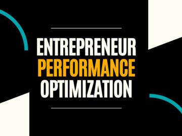 Consultation: Entrepreneur Performance Optimization Program