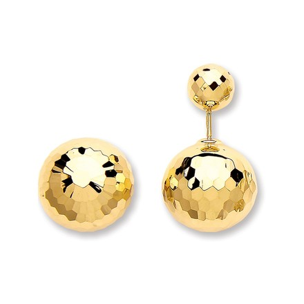 Selling: Y/G Disco Ball Screw Back Earrings