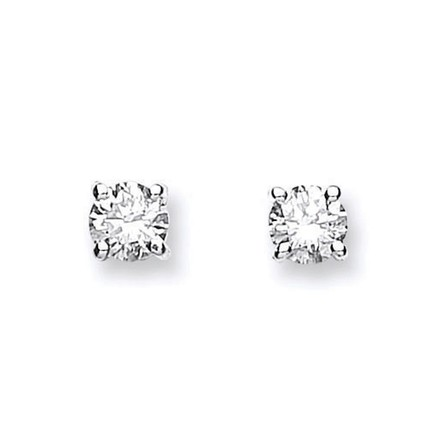 Selling: 18ct Yellow Gold 0.60ctw Claw Set Diamond Stud Earrings