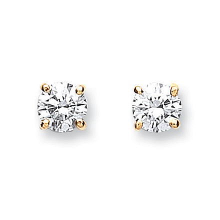 Selling: 18ct Yellow Gold 0.70ct Claw Set Diamond Stud Earrings