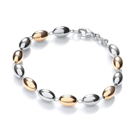 Two Color Bead Bracelet