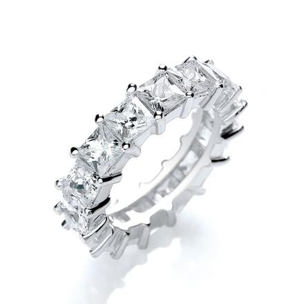 Selling: Full ET Princess Cut Cz Ring
