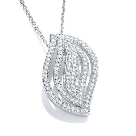 """Selling: Micro Pave' Fancy Pendant Cz with 18"""" Chain"""