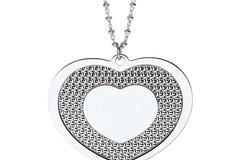 """Selling: Big Heart 18"""" Necklace"""
