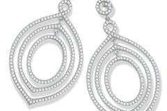 Selling: Micro Pave Fancy Drop Cz Earrings