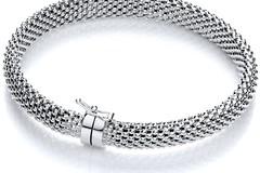 Selling: Silver Mesh Bangle