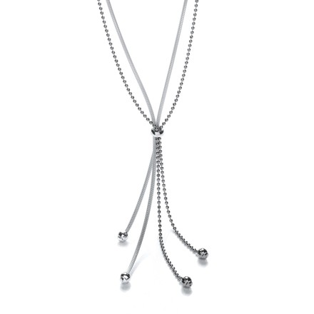 Selling: Fancy Tassle Ruthenium Chain