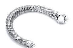 Selling: Silver Mesh Bracelet