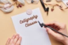 Consultation: Calligraphy for Beginners