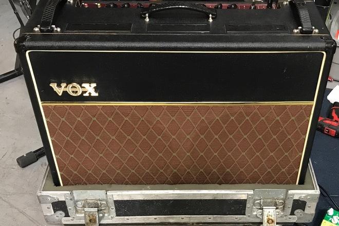 Vox AC30 2x12 guitar amp