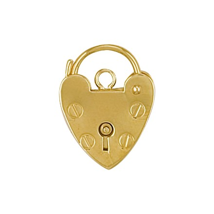 Selling: 9ct YG 15mm Padlock
