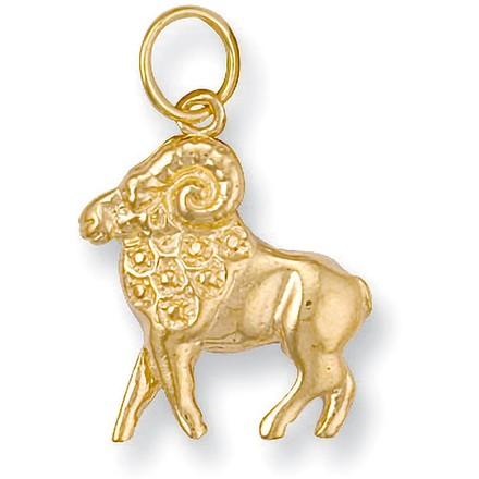 Selling: Y/G Aries Zodiac Pendant