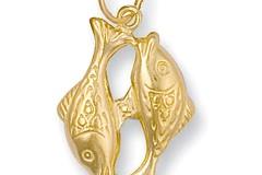 Y/G Pisces Zodiac Pendant