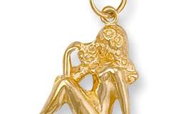 Y/G Virgo Zodiac Pendant