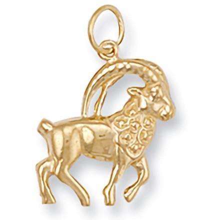 Selling: Y/G Capricorn Zodiac Pendant