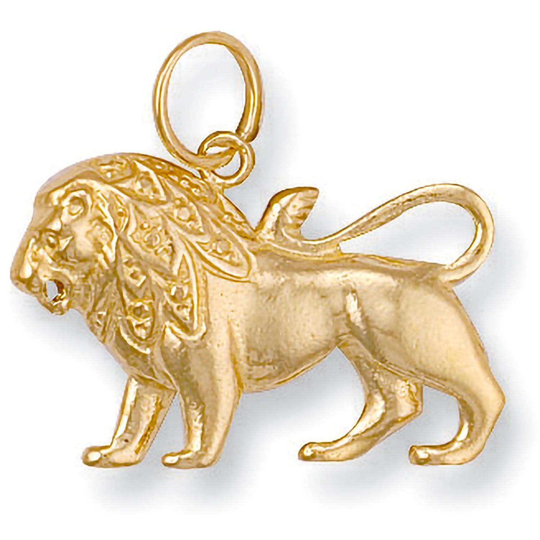 Y/G Leo  Zodiac Pendant