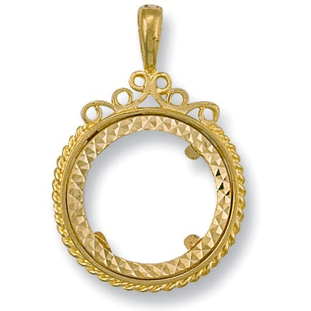 Selling: Y/G (Full) Fancy Sovereign Pendant