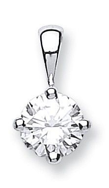 Selling: 18ct White Gold 0.70ct Diamond Solitaire Pendant