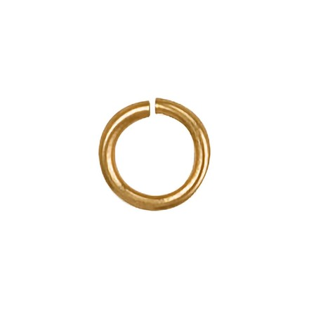 Y/G 4mm Jump Ring (Pack of 6)