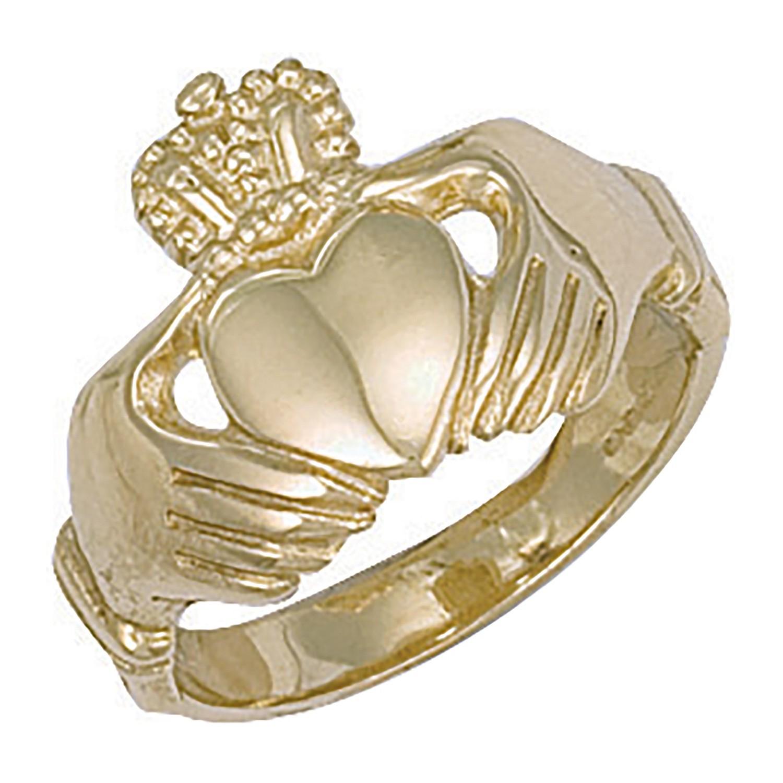 Y/G Claddagh Ring